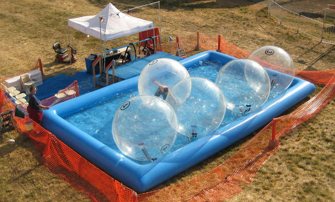 Water ball ou roller ball - Entretien eau piscine gonflable ...