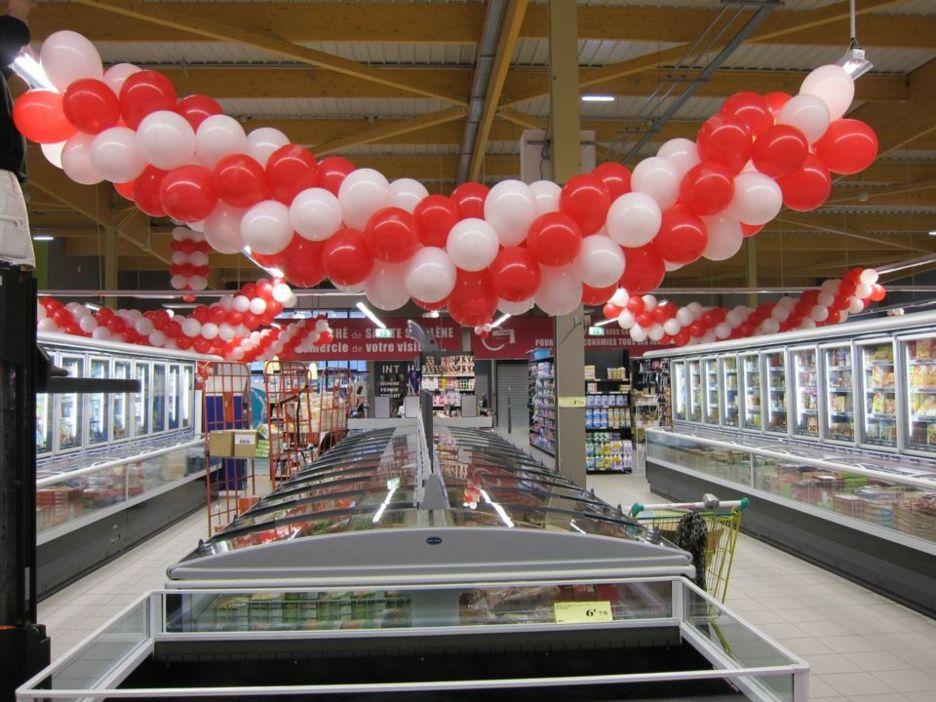 D coration ballons pour magasin lyon - Magasin decoration lyon ...