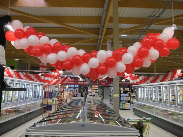 Une décoration 100% ballons gonflables près de Lyon !