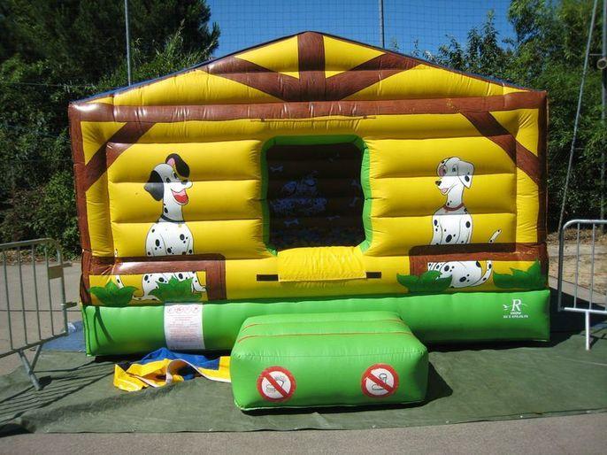 Château dalmatien / piscine à boule