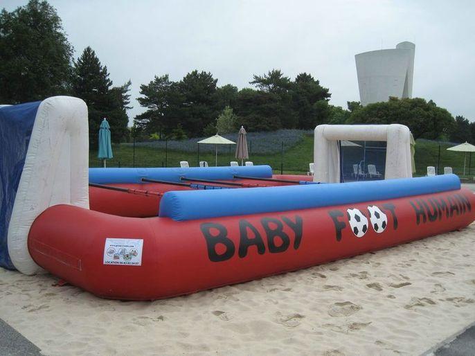 Baby foot Humain à barres 1