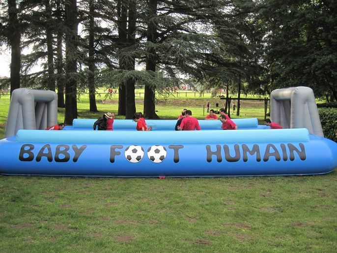 Baby foot humain à barres 2
