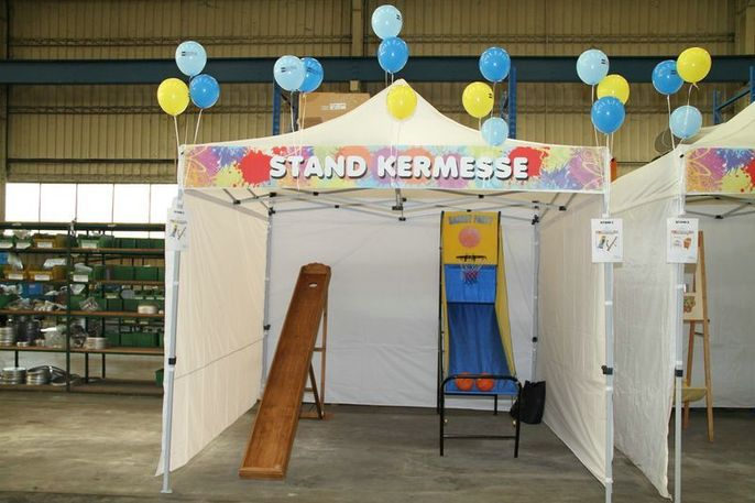 Stand pour kermesse