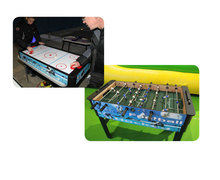 Table Combo Air Hockey et Baby foot