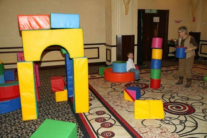 Jeux de constrution 40 piéces - Cube mousse