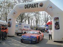 PROM-EVENTS était au départ du 62ème rallye de Charbonnières...