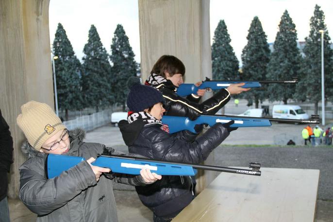 Carabine Laser -  Biathlon Laser