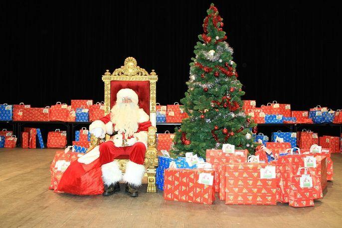 Trône 1 du  Père Noël