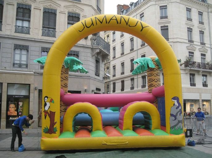 Parcours Obstacles Jumanjy