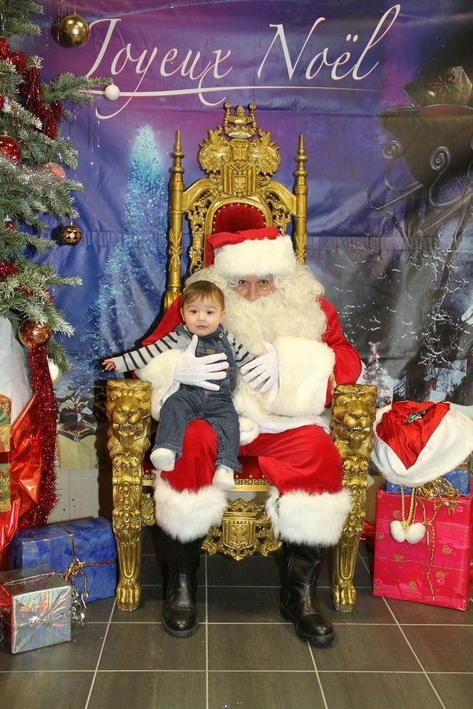 Trône 2 du père Noël