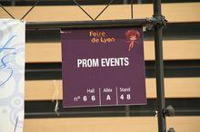 PROM-EVENTS à la Foire de LYON HALL 66 - Stand 66A48