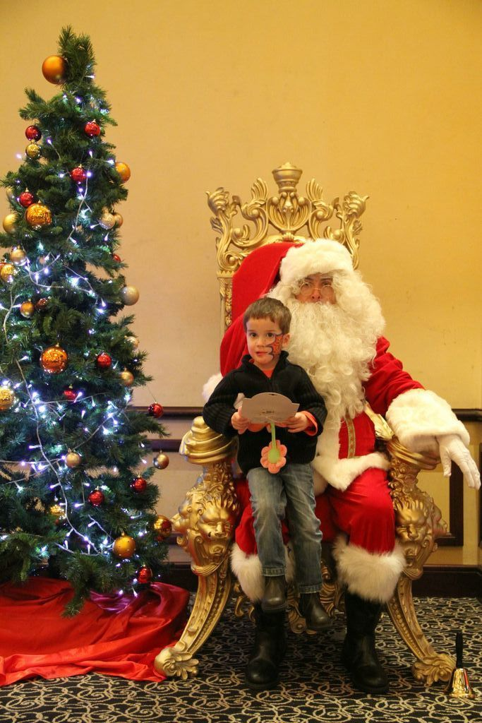 Trône 3 du père Noël