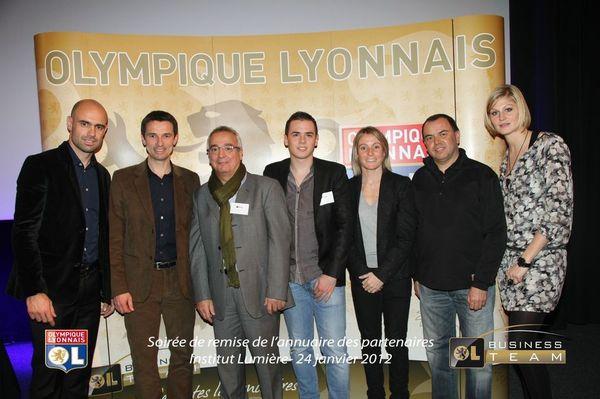Prom Events & l'Olympique Lyonnais.