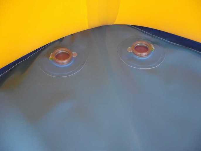 Piscine Gonflable autonome (sans soufflerie)