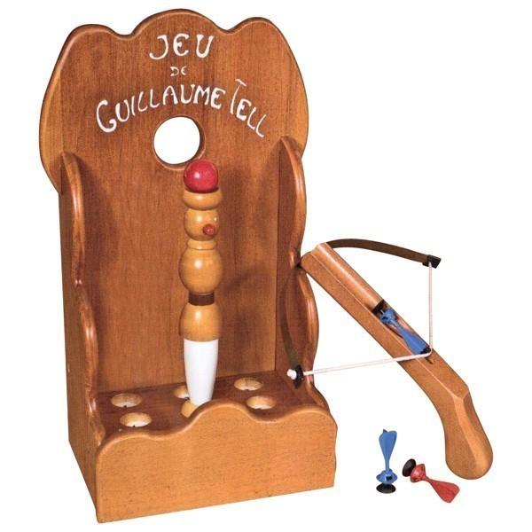 Découvrez le nouveau jeu en bois de Guillaume Tell !