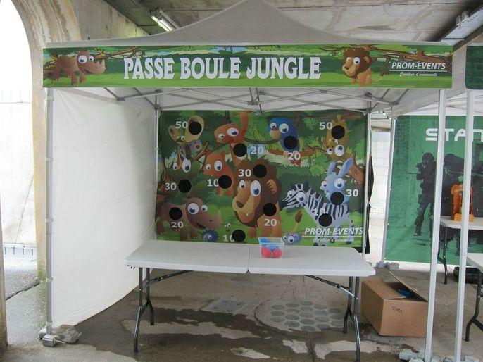 Stand Passe Boule Jungle