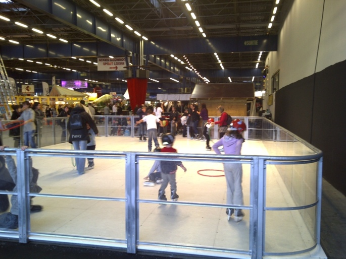 PATINOIRE ARTIFICIELLE 12x8m ou 14x10m