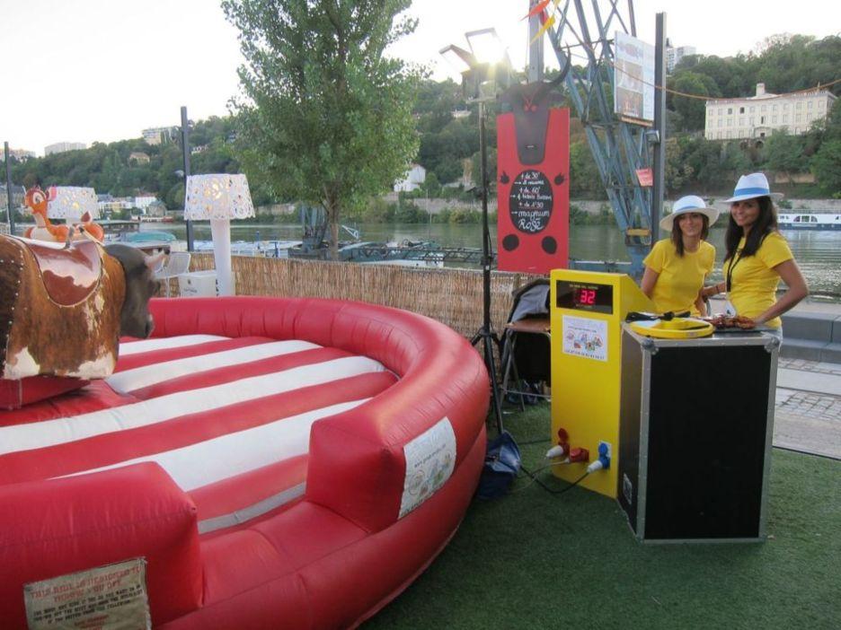 Le show du Taureau mécanique au Docks 40 !