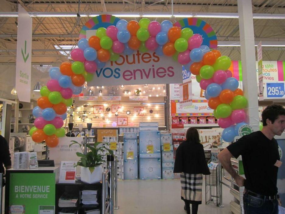 Une décoration ballons pour votre magasin, y avez-vous pensé ?