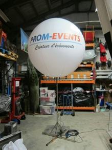 Ballon trépied éclairant 1.5m personalisable
