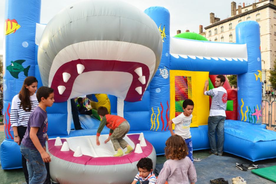 Pensez au château gonflable pour votre événement !