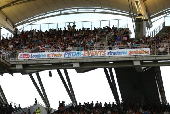 Prom-Events partenaire de la tribune Famille de l'Olympique Lyonnais !