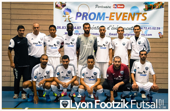 Prom-Events Sponsor officiel de FOOTZIK club de Villeurbanne à Lyon !