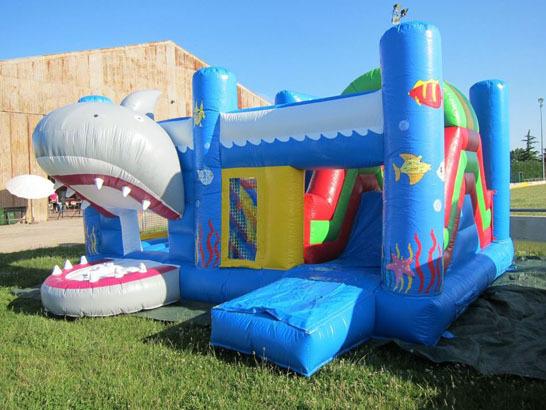 Chez Prom Events, nos châteaux gonflables ne s'envolent pas !