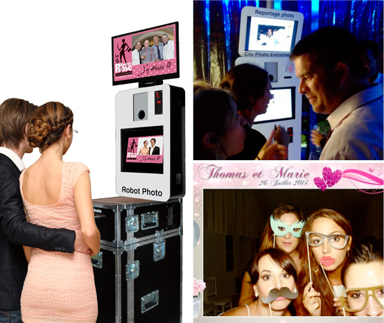 Nouveau chez Prom-Events : le robot photo !