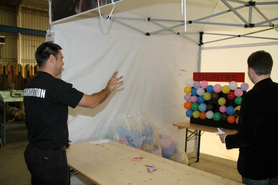 Stand Mur de ballon / ou ballon flottant