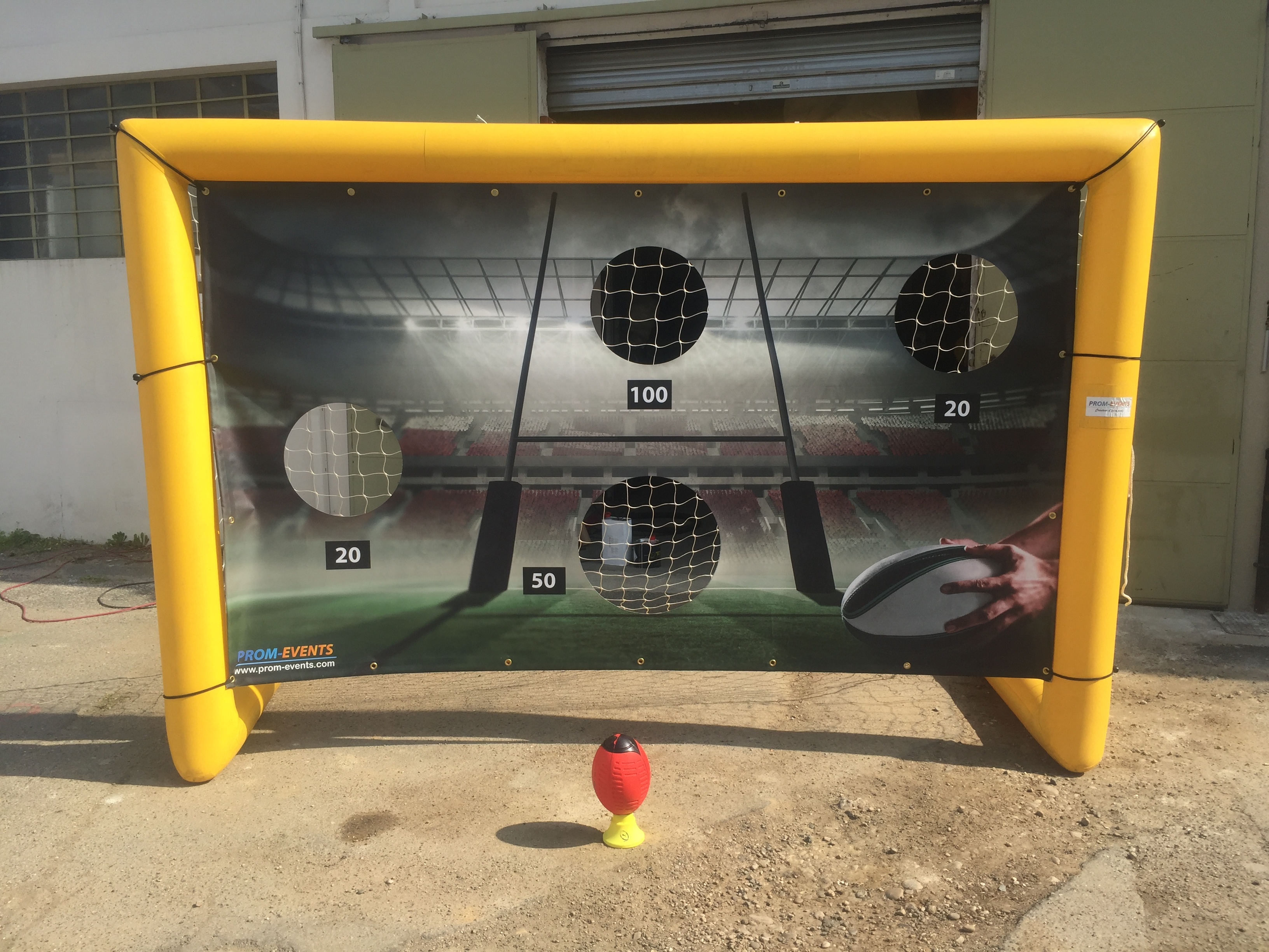Cage Tir précision 3mx2m rugby