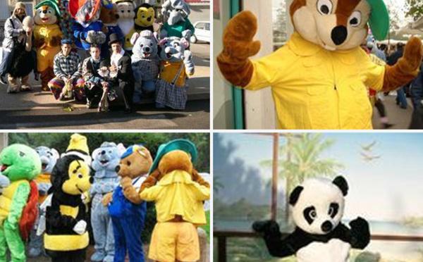 Des mascottes pour vos animations !