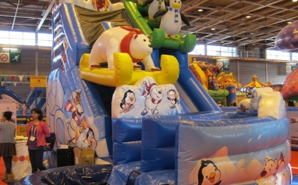 Une nouvelle structure gonflable pour glisser tout l'hiver !