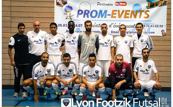 Prom-Events Sponsor officiel de FOOTZIK club de Villeurbanne à Lyon !