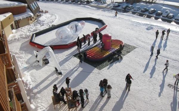Réservez des structures gonflables pour votre  évènement extérieur !