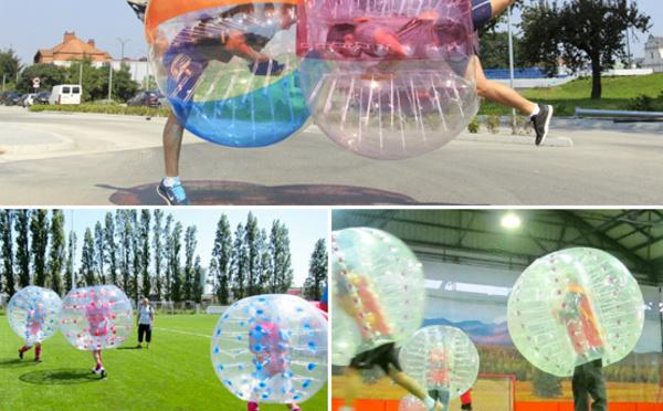 Le Bubble foot, vous connaissez ?