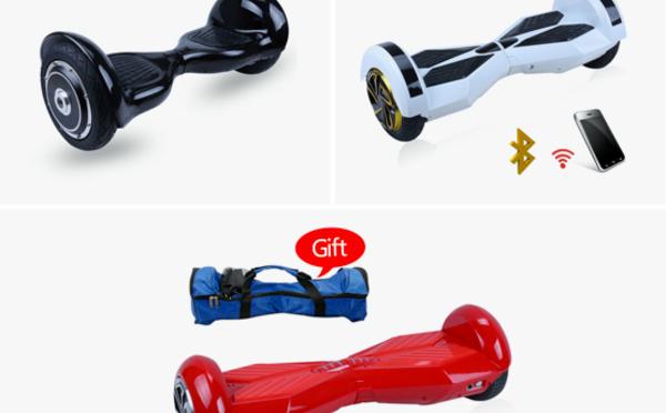 La nouvelle sensation du moment : le skateboard électrique !